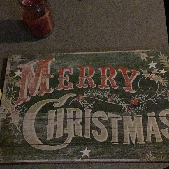 Other - Christmas wooden sign